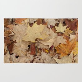 All the Leaves Overview Rug