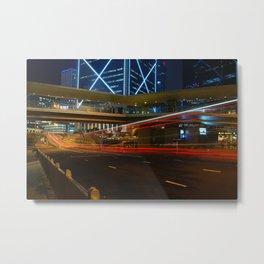 Lightspeed Metal Print