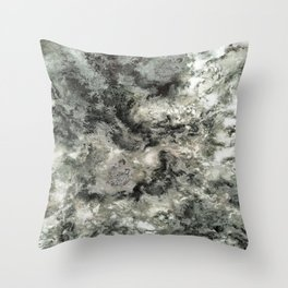 Dragged Throw Pillow