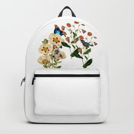 Big Flowers dream pink Backpack
