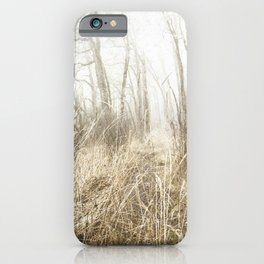MIMICKED FORMS IN A MYSTERIOUS WOOD iPhone Case