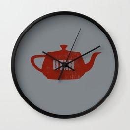 Utah Teapot Wall Clock