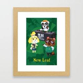 Animal Crossing: New Leaf Framed Art Print