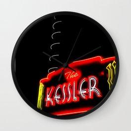 Kessler Glows Wall Clock