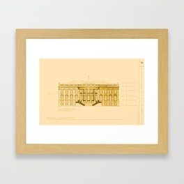A Nation Divided Framed Art Print