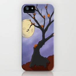 The Halloween Tree iPhone Case