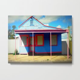 "The ""Retro"" Shop Metal Print"