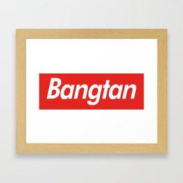 BTS Bangtan Box Logo Framed Art Print