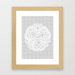 Viking Bird Framed Art Print