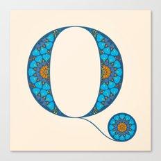 Q - Amarilis Canvas Print