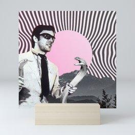 Serpents at Sundown Mini Art Print