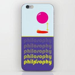 [UN] DISCIPLINE: PHILOSOPHY iPhone Skin