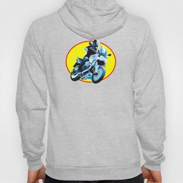 Running Motorcycle Hoody