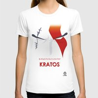 vector T-shirts featuring Vector Kratos by LoweakGraph
