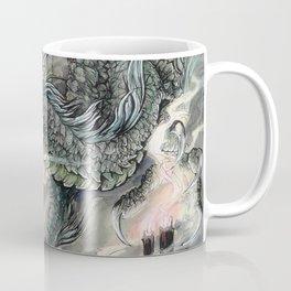 Candle Dragon Coffee Mug