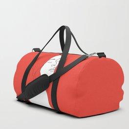 Woman in Reverie Duffle Bag