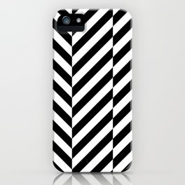 Black and White Op Art Design iPhone Case