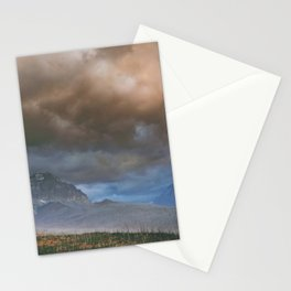 East Glacier Storm Stationery Cards