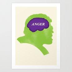 Hulk Phrenology Art Print
