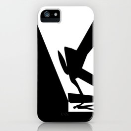 The Visitor Silhouette iPhone Case