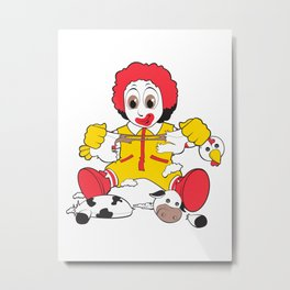 Young Ronald Metal Print