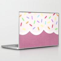 sprinkles Laptop & iPad Skins featuring Sprinkles by Glanoramay