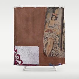 Faded Glory; Colorful Story Shower Curtain