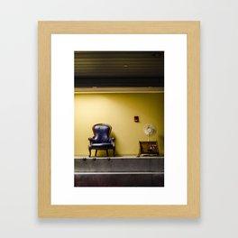Concourse C  Framed Art Print