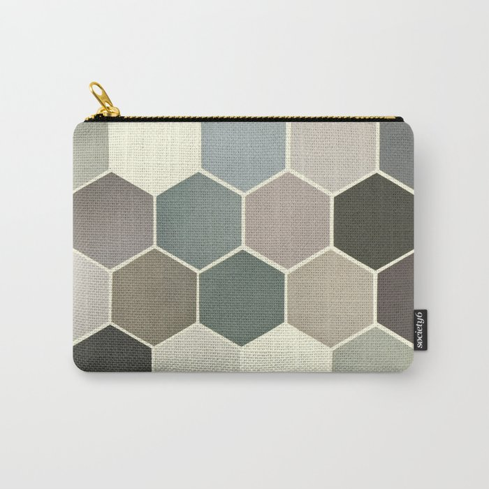 Shades of Grey Carry-All Pouch