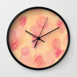 Abstract - 1 - Laura Wayne Design Wall Clock