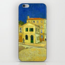 "Vincent Van Gogh ""The yellow house ('The street')"" iPhone Skin"