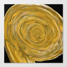 The Golden Snail  Canvas Print