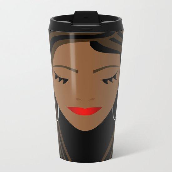 Girl 2 Metal Travel Mug