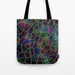 Mosaic LORA,multicolor Tote Bag