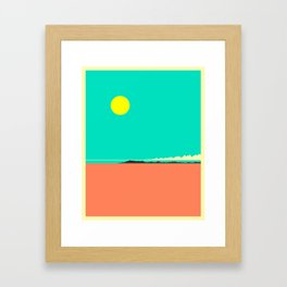 BOLIVIA Framed Art Print
