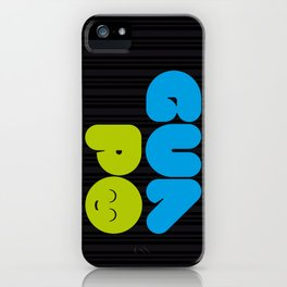 Guapo Neon iPhone Case