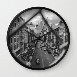 New York Chinatown Wall Clock