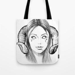Demon Girl Tote Bag