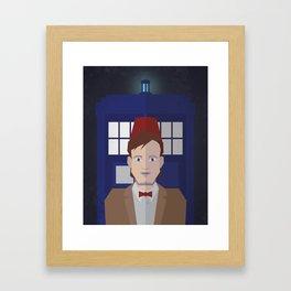 The 11th Doctor Framed Art Print