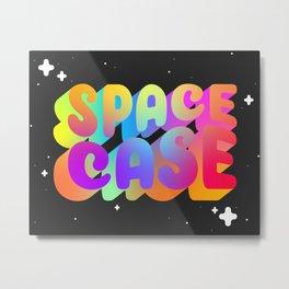 Space Case Metal Print