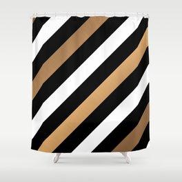 Stripes Pattern Shower Curtain