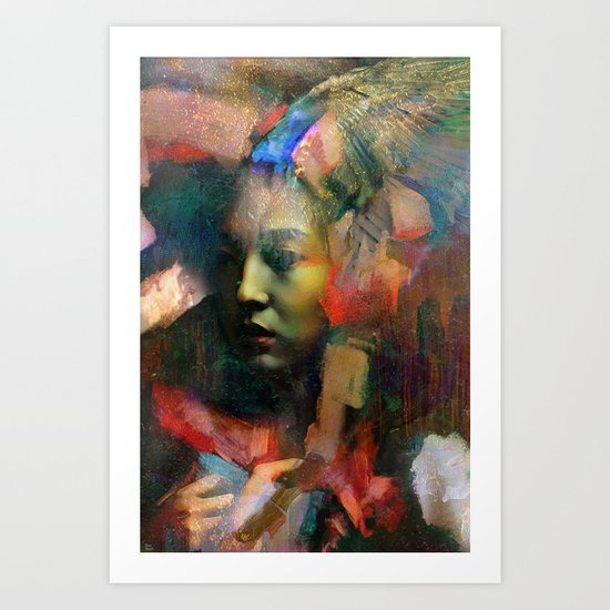 Furtive memory Art Print