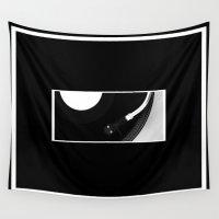 revolution Wall Tapestries featuring Vinyl Revolution by Derek Delacroix