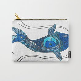 Tatoo Koi Fish Carry-All Pouch