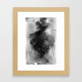 Black Witch Poison Framed Art Print