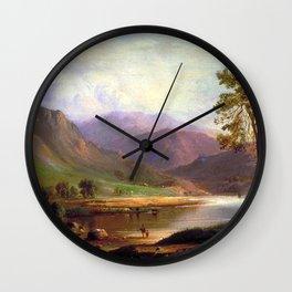 Robert S Duncanson - Loch Long Wall Clock