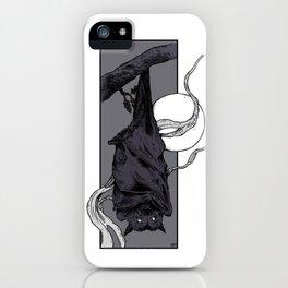 Purple Bat II iPhone Case