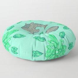 Whaleshark Crystal Party Floor Pillow