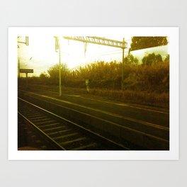 On The Move Art Print