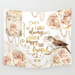 Jane Eyre - Dignified Wall Tapestry